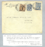 Kolumbien 1926-01-07 Scadta-Brief Nach Bogota - Colombie