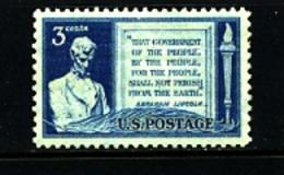 UNITED STATES/USA - 1948  A. LINCOLN  MINT NH - Stati Uniti