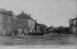 Radonvilliers : L´abreuvoir Et Rue De Brienne - France