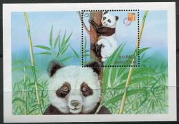 (cl. 8 - P38) Bhoutan ** Bloc N° 350 - (ref. Michel Au Dos) -  Pandas - - Bhutan