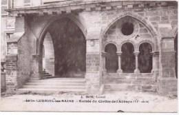 Cpa LUXEUIL LES BAINS Entrée Du Cloitre De L Abbaye - Luxeuil Les Bains