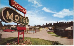 Vancouver Washington, Larry's Motel, Lodging, Auto, C1960s Vintage Postcard - Vancouver