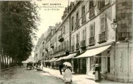 Belle Carte    -   Quimper -  Le Boulevard De L 'Odet  Vu De L 'Evêché        N1079 - Quimper