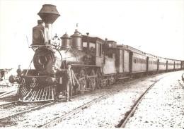 Nº4024 POSTAL DE ESPAÑA DE UNA LOCOMOTORA DE VAPOR EN BLANES AÑO 1898 (TREN-TRAIN-ZUG) AMICS DEL FERROCARRIL - Trenes