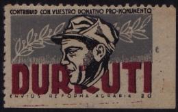 GUERRA CIVIL - DURRUTI - Viñetas De La Guerra Civil