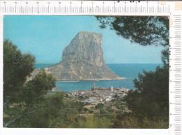 BENIDORM   -   Calpe  Con  Se  Penon De  Ifach - Alicante