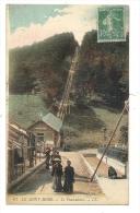 Cp, 63, Le Mont Dore, Le Funiculaire, Voyagée 1922 - Le Mont Dore