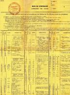 BON  DE  COMMANDE -  PARIS - ECO -  GROUPEMENT  D'ACHATS  DES  ANCIENS  ELEVES  DES  GRANDES  ECOLES - Documentos Antiguos