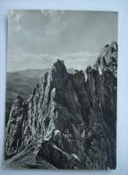 PIETRACAMELA PUNTA DEI DUE TORRE LIVIA DAL PASSO DEL CANNONE -  FG -VIAGGIATA 1956 (ABR-2444