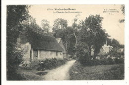 Cp, 76, Veules-les-Rose, Le Chemin Des Cressionnières, écrite - Veules Les Roses