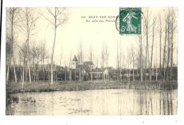 Cp, 80, Bray-sur-Somme, Un Coin Des Marais, Voyagée - Bray Sur Somme