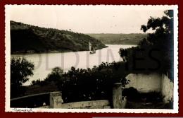 TRAMAGAL - ASPECTO DO TEJO - 1940 REAL PHOTO PC - Santarem
