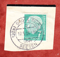 Briefstueck, EF Heuss, PSST Gross Rhueden Ueber Seesen UB: B, 1959 (24305) - [7] West-Duitsland