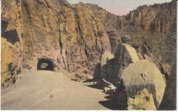 Superior Highway Arizona, Tunnel Roadside Scene, C1930s Vintage Postcard - Other