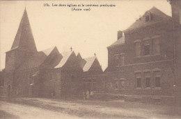 Les Deux églises Et Le Nouveau Presbytère (Autre Vue) Animée - Fexhe-le-Haut-Clocher