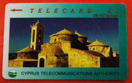 ★CHURCH: TELECARD CYPRUS ★ 3 POUNDS USED! LOW START★NO RESERVE! - Chypre