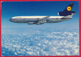 AK Flugzeug DC-10 'Lufthansa' ~ 1977 - 1946-....: Moderne