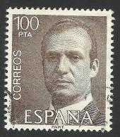 Spain, 100 P. 1981, Sc # 2268, Mi # 2517, Used - 1931-Aujourd'hui: II. République - ....Juan Carlos I