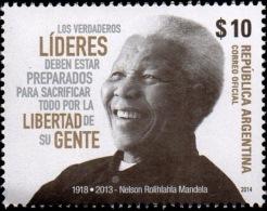 ! ARGENTINE / ARGENTINA: Nelson Mandela (2014) MNH / Neufs *** - Famous People