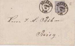 ALLEMAGNE 1870 LETTRE DE BRESLAU - Norddeutscher Postbezirk