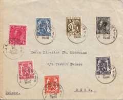 BELGIEN 1936 - MEF Auf Brief Von Belgien Nach Bern - Belgien