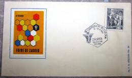 Yougoslavie - Enveloppe - Foire De Zagreb - 1960 - 1945-1992 République Fédérative Populaire De Yougoslavie