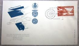 Yougoslavie - Enveloppe - Grand Prix Adriatique - 1960 - Avion - Lac - Bateau - 1945-1992 République Fédérative Populaire De Yougoslavie
