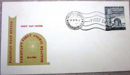 Pakistan - Enveloppe Premier Jour - 1966 - Réacteur Atomique - Karachi - Pakistan