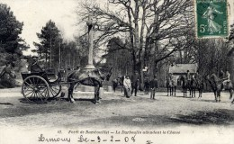 78 Fôret De RAMBOUILLET Chasse à Courre Le Darboulin Attendant,,,, Très Animée - Rambouillet