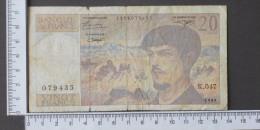 FRANCE  20  FRANCS  1995     -    (Nº12191) - 100 F 1978-1995 ''Delacroix''