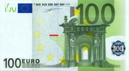EURO GERMANY 100 X DUISENBERG P007 UNC - EURO