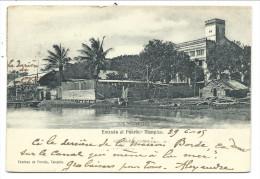 ///  CPA - Amérique - Mexique - TAMPICO - Entrada Al Puerto  // - Mexique