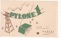 PYLONE 1  -  HOME  -  THE   RESTAURANT   MEGEVE  (HAUTE-SAVOIE) - Megève