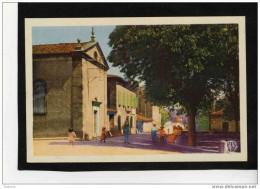 REALMONT-N °4-le Temple -la Poste Sur La Route D´alban - Animée --édit APAP POUX Albi-années 30-40 - Realmont