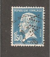 Perfin/perforé/lochung France No 181 AV  L'Abeille Assurance Vie  Alfred Videau - Francia
