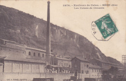 BEON ENVIRONS DE CULOZ USINES DE CIMENT - France