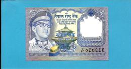 NEPAL - 1  Rupee - ND ( 1974 ) - P 22 - Sign. 9 - UNC. - King Birendra Bir Bikram - 2 Scans - Nepal
