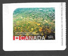 CANADA 2015, # 2847,   UNESCO   World Heritage Sites,( JULY 03) WOOD BUFFALO NATIONAL PARKS AB/NT - Carnets