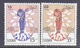 SUDAN  128-9     **   WRY - Sudan (1954-...)