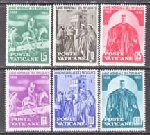 VATICANE  275-80    **   WRY - Unused Stamps