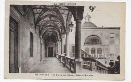 (RECTO / VERSO) MONACO EN 1932 - N° 393 - PALAIS DU PRINCE - GALERIE D' HERCULE- BEAU CACHET ET  TIMBRE DE MONACO - Fürstenpalast
