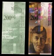 (Replica)China BOC (bank Of China) Training/test Banknote,Switzerland Schweiz B-1 Series 200 SFR Note Specimen Overprint - Swaziland