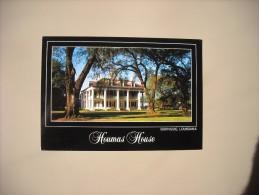 ETATS UNIS LA LOUISIANA BURNSIDE RIVER ROAD HISTORIC HOUMAS HOUSE 1800-1840 - Etats-Unis