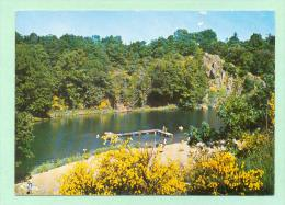CPM  FRANCE  79  ~  ARGENTON-CH�TEAU  ~  41  Le lac d'Hautibus et la plage  ( Combier 70/80 )