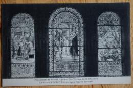 Lyon - Pensionnat De Serin - Les Vitraux De La Chapelle - Vitrail Bessac - Dutruc Lyon Repres Exclusif - (n°4304) - Lyon 4