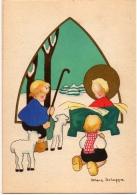 HÉLÉNA SCHEGGIA CPM Illustrateur Image Pieuse Enfants - Otros Ilustradores