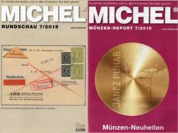 MICHEL Briefmarken Rundschau 7/2015 Neu 6€ New Stamp Of The World Catalogue And Magacine Of Germany ISBN 9 783954 025503 - Tedesco