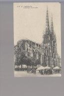 Cpa ,  Bordeaux ,  Cathédrale St  André , Voyagé - Bordeaux