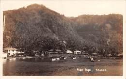 "03680 ""PAGO PAGO - AMERICAN SAMOA ""  ORIGINAL POST CARD.  NOT SHIPPED. - Samoa Américaine"