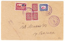 Bulgarien Luftpost Brief 8.11.1927 Sofia Nach Varna - Poste Aérienne